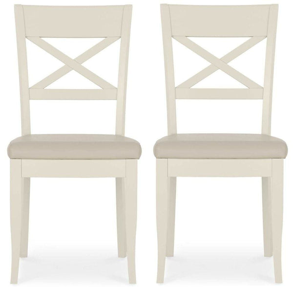 Astonishing Bentley Designs Montreux Antique White Dining Chair X Back Pair Ibusinesslaw Wood Chair Design Ideas Ibusinesslaworg