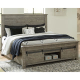 Morgan 7 Piece Full Storage Bedroom - Anthracite