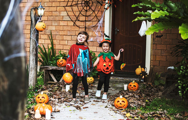 Trick or Treat!? Kids dressed up for Halloween