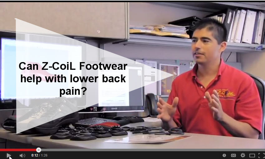 Lower Back Pain Relief from Z-CoiL