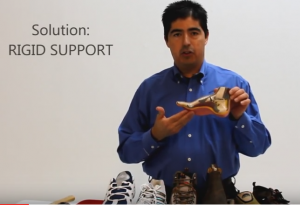Video of Andres with Plantar Fasciitis and Heel Pain