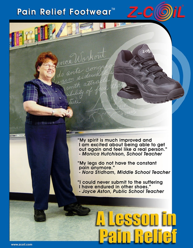 Teachers in Z-CoiL Footwear