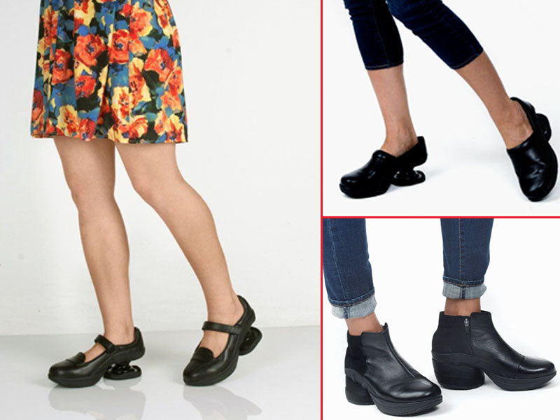 Z-CoiL Spring Fashion Footwear Feature