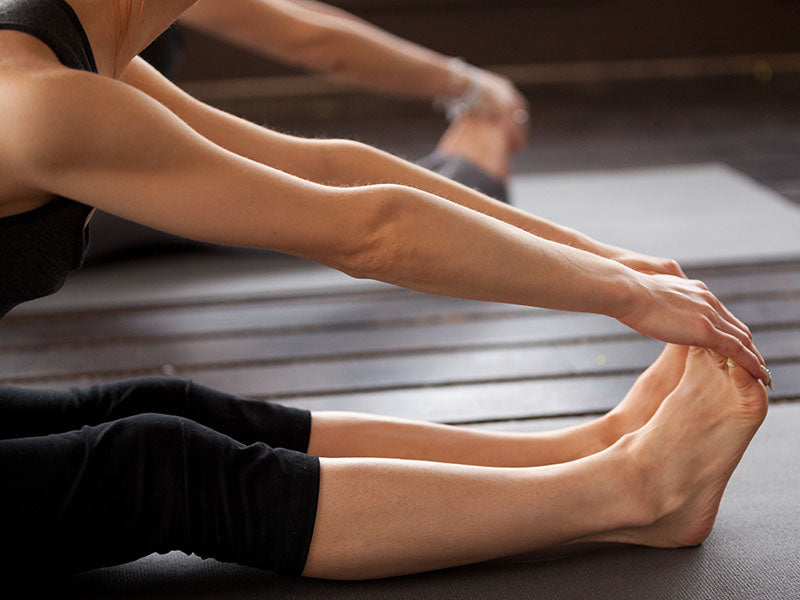 Daily stretches to do to stay limber and flexible. Stay pain free with Z-CoiL Pain Relief Footwear.