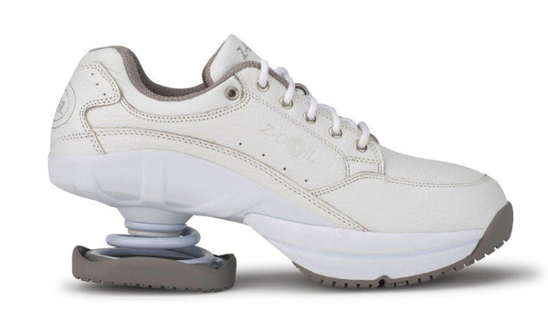 afaa5ef9f7c4 Z-CoiL Spring Shoes l Legend White Slip Resistant with Open CoiL
