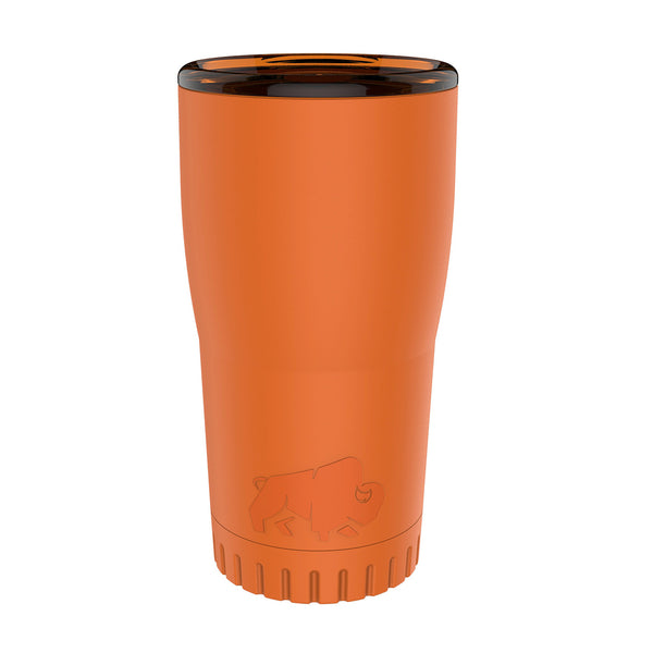 Matte Orange 20oz Double Wall Stainless Tumbler