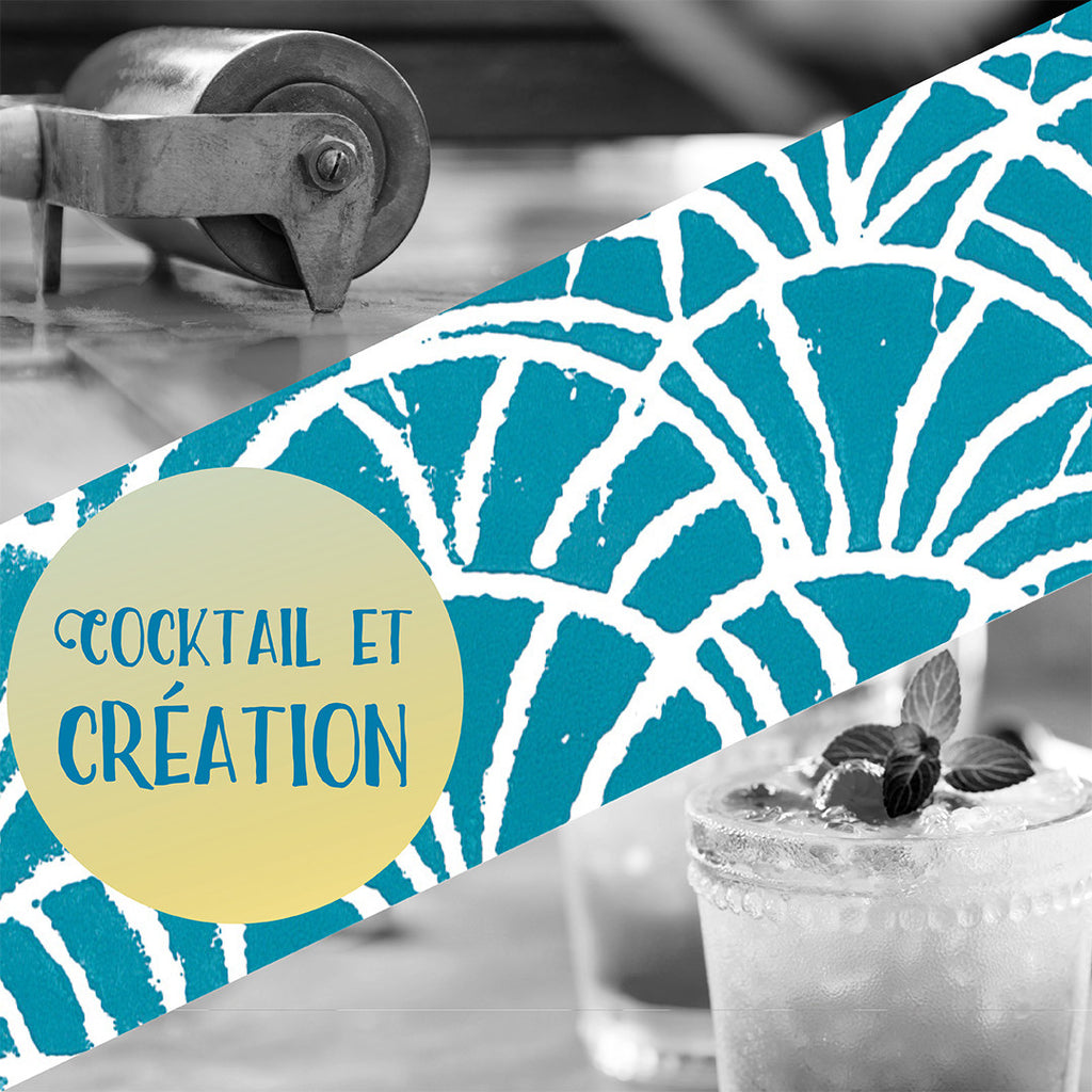 Cocktails & création // Drinks & Prints