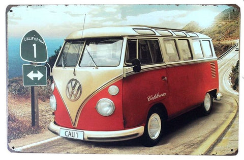 Vintage VW California Bus