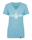 Women's Safe Passage V-Neck Tee - Hook Tribe