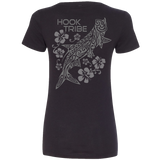 Women's Silver Kings V-Neck Tee - Hook Tribe