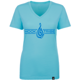 Women's The Eagle Ray V-Neck Tee - Hook Tribe