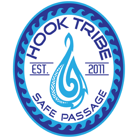 "5"" Hook Tribe Safe Passage Sticker"