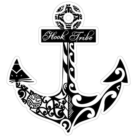 "5"" Hook Tribe Anchor Sticker - Hook Tribe"