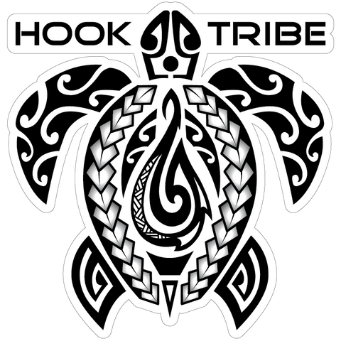"5"" Hook Tribe Honu Legend Sticker"