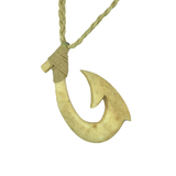 Hei Matau Aged Bone Safe Passage Necklace - Hook Tribe