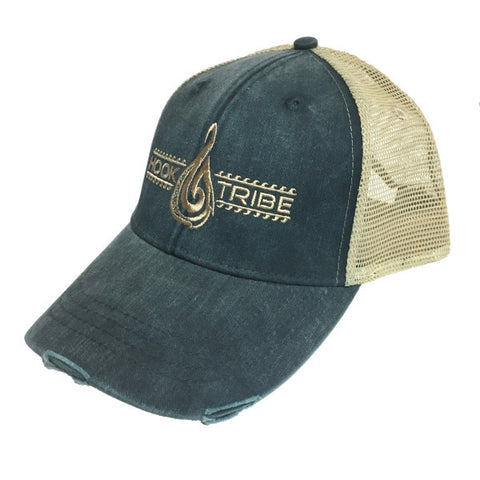 Maori Legends Distressed Trucker Hat - Hook Tribe