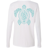 Women's Honu L/S Performance Tee - Hook Tribe