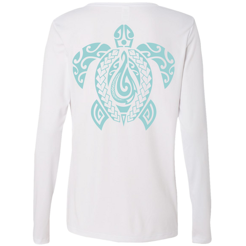 Lady Honu L/S Performance Tee - Hook Tribe