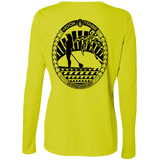 Women's SUP L/S Performance Tee - Hook Tribe
