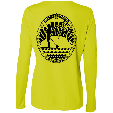 Lady SUP L/S Performance Tee - Hook Tribe