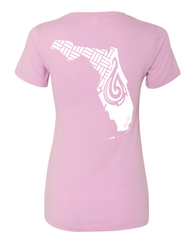 Women's Sunshine State of Mind V-Neck Tee - Hook Tribe