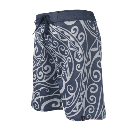 Men's Maori Tribal Boardshort - Hook Tribe