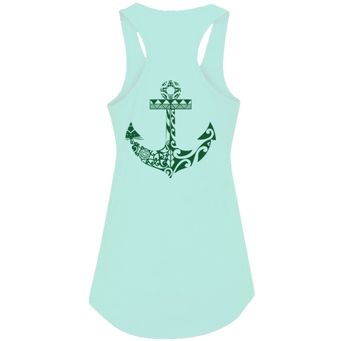 Women's Anchors Away Tank Top - Hook Tribe