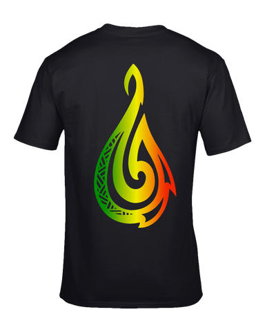 Rasta Hook T-Shirt - Hook Tribe