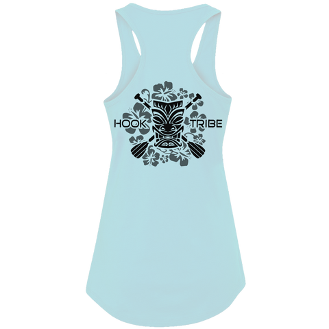 Women's Tiki Cross Paddles Tank Top - Hook Tribe