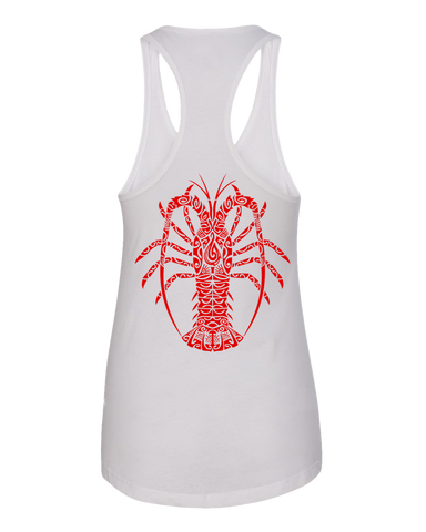 Women's Ula Lobster Tank Top - Hook Tribe