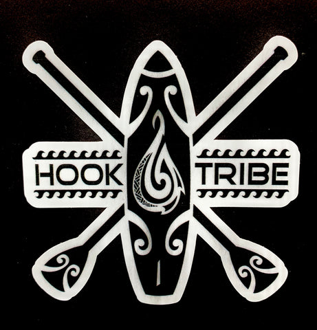 "6"" Hook Tribe S.U.P. Sticker"