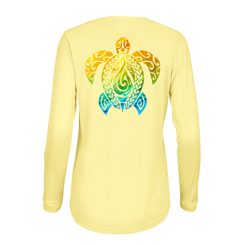 Women's Honu Nalu Yellow