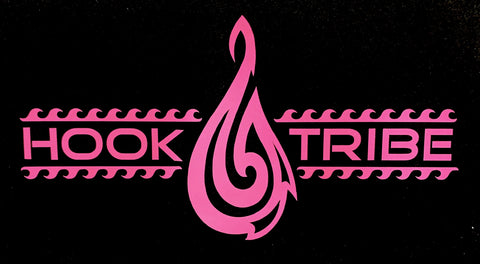 Hook Tribe Safe Passage Sticker Pink