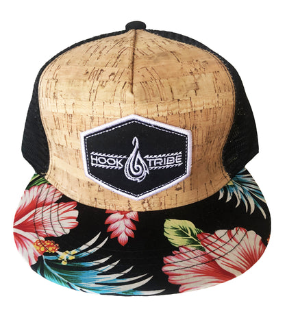 Hawaiian Cork SnapBack Hat - Hook Tribe