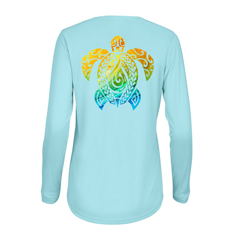 Women's Honu Nalu Blue