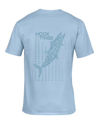 Men's Surfing Kingfish T-Shirt - Hook Tribe