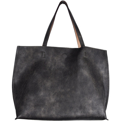 vegan cruelty free bag handbag tote Street Level pewter nude Australia
