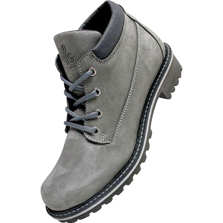 Will's Vegan Ankle Dock Boots Grey