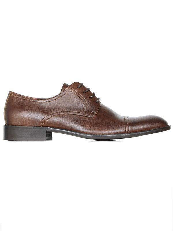 Will's Vegan Shoes City Derbys Chestnut (Wide Fit) size EU 43 - sale