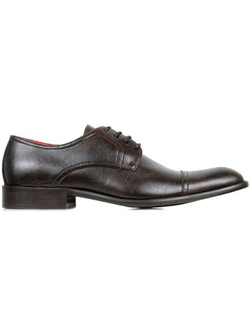 Will's Vegan Shoes City Derbys Dark Brown