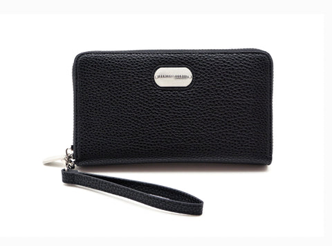 Denise Roobol Vegan Wallet Black