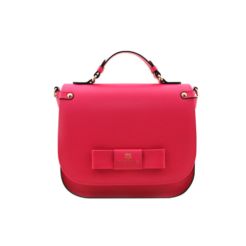 Gunas Ridley Vegan Cross Body Bag Raspberry