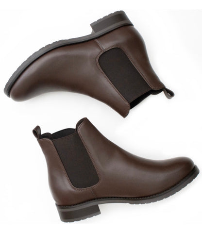 Will's Vegan Luxe Smart Chelsea Boot Dark Brown