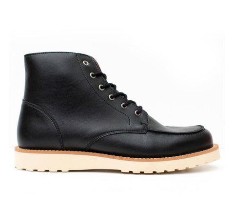 Will's Vegan Rig Boots Black