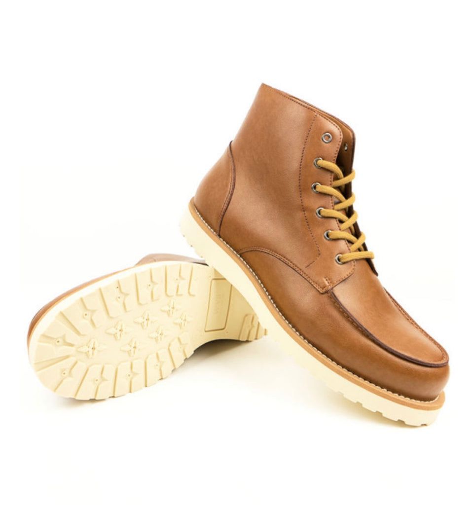 Will's Vegan Rig Boots Tan