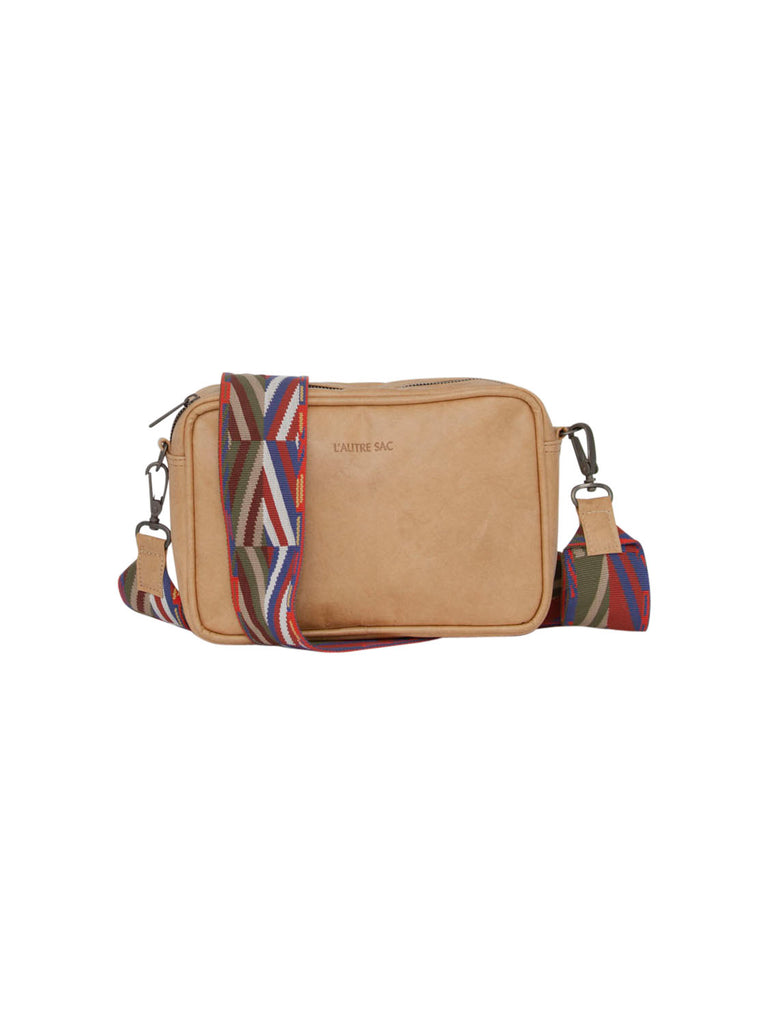L'autre Sac Daria Cross Body Bag Camel