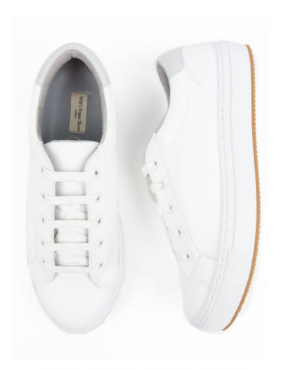 Will's Vegan New York Trainers White
