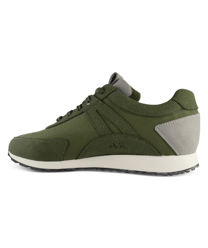 EKN Low Seed Runner Olive Green