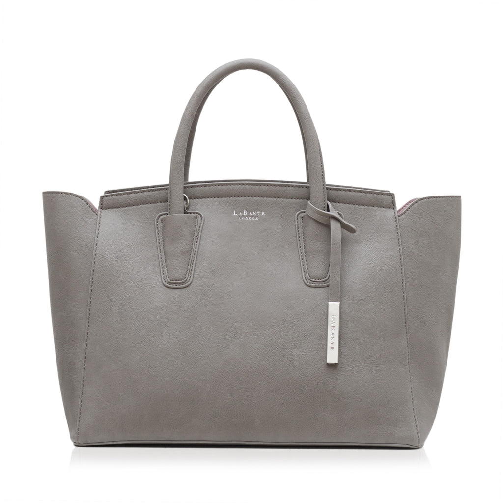 Labante Grant Vegan Carryall Bag Grey