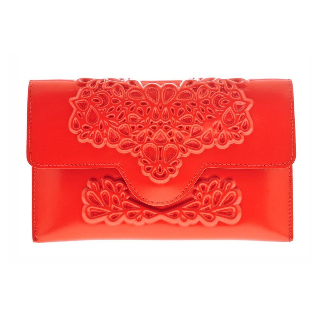 MeDusa Slim Clutch Red